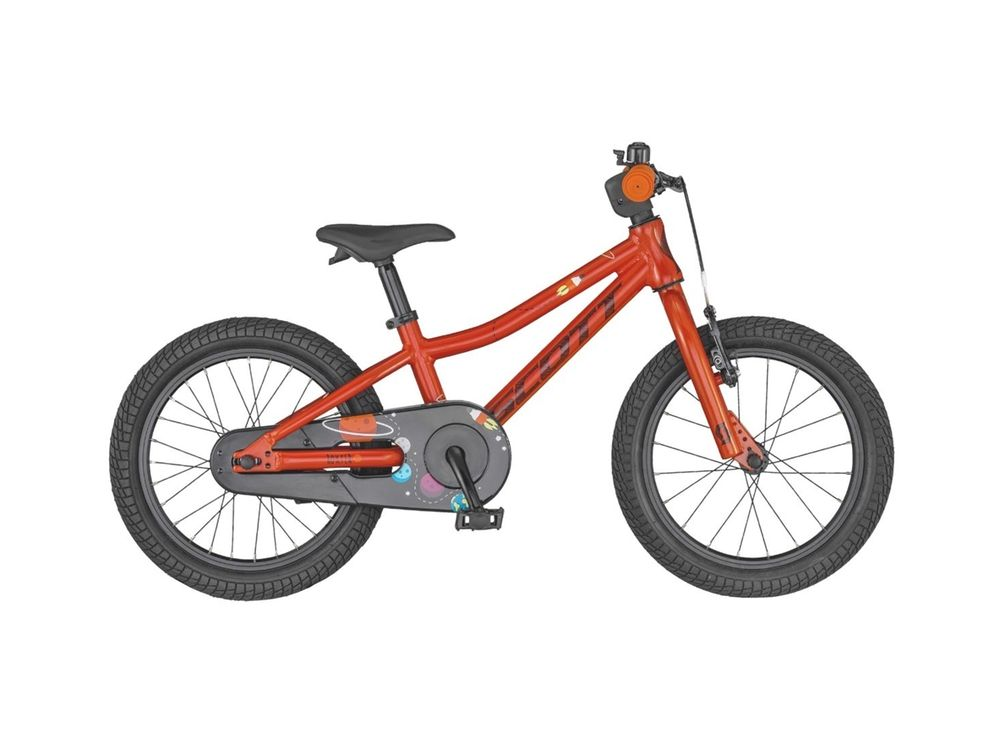 Barncykel Scott Roxter Orange 16 tum