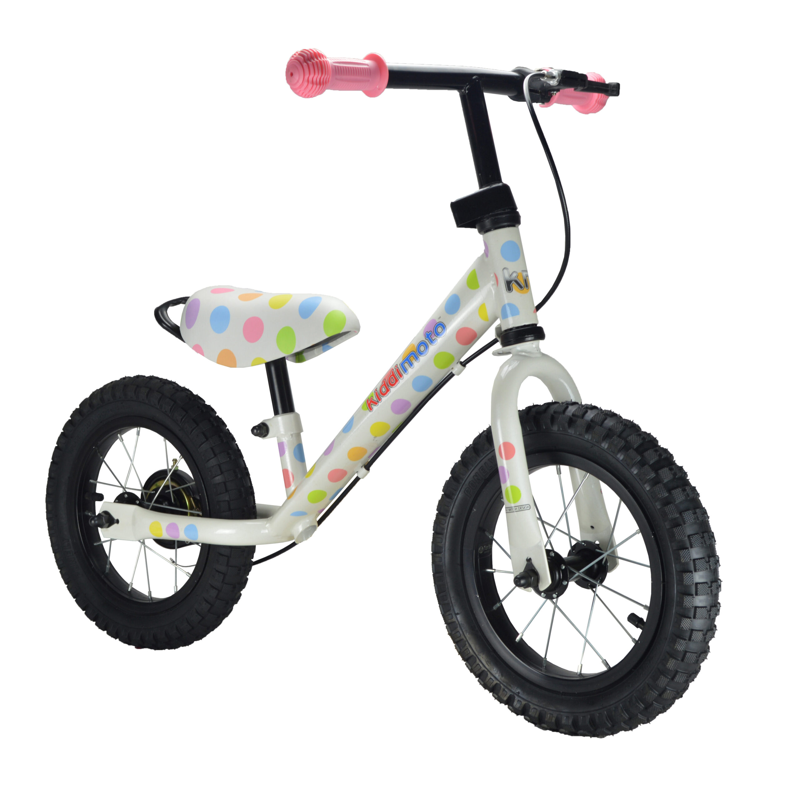 Balanscykel Kiddimoto Super Junior Max, Pastel