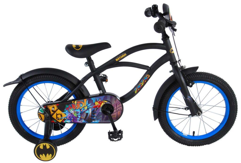 Barncykel Batman Cruiser Svart, 16 tum